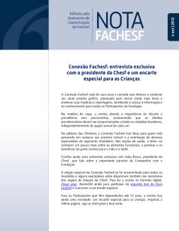 Conexão Fachesf: entrevista exclusiva com o presidente da Chesf e