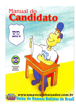 Manual do Candidato