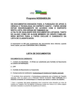 Programa NOSSABOLSA