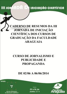 Cursos de Jornalismo e Publicidade e Propaganda