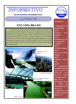 INFORMATIVO - Associação Brasileira de Masters de Natação