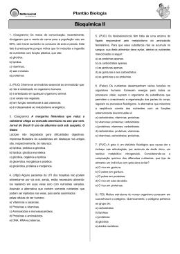 Bioquímica II - Refferencial Cursos