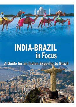 A Guide for an Indian Exporter to Brazil | Page 1