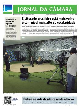 Eleitorado brasileiro está mais velho e com nível mais alto de