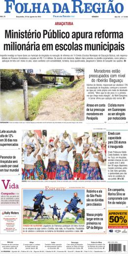 Moradores estão preocupados com nível do ribeirão Baguaçu