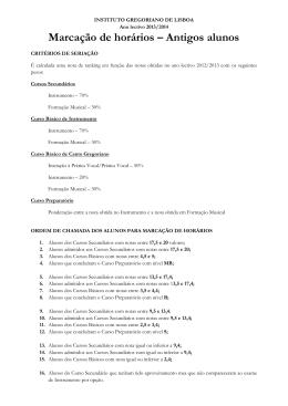 INSTITUTO GREGORIANO DE LISBOA