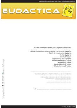 www.eudactica.com Este documento é constituído por 14 páginas