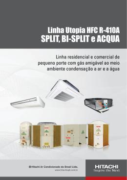 SPLIT, BI-SPLIT e ACQUA - Hitachi Ar Condicionado