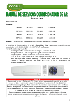 CONSUL - Erros - Hi Wall Inverter