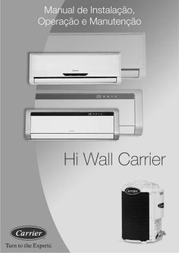 Catálogo - Técnico Split Hi Wall