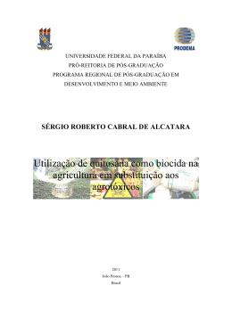 Utilização de quitosana como biocida na agricultura em