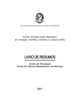 Área de Ciências Exatas - PR2-UFRJ