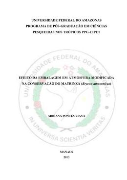 Programa de Pós Graduação em Ciências Pesqueiras nos Trópicos