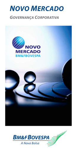 Novo Mercado - BM&FBovespa