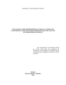 manuella carvalho da costa ciclo estral, histomorfometria