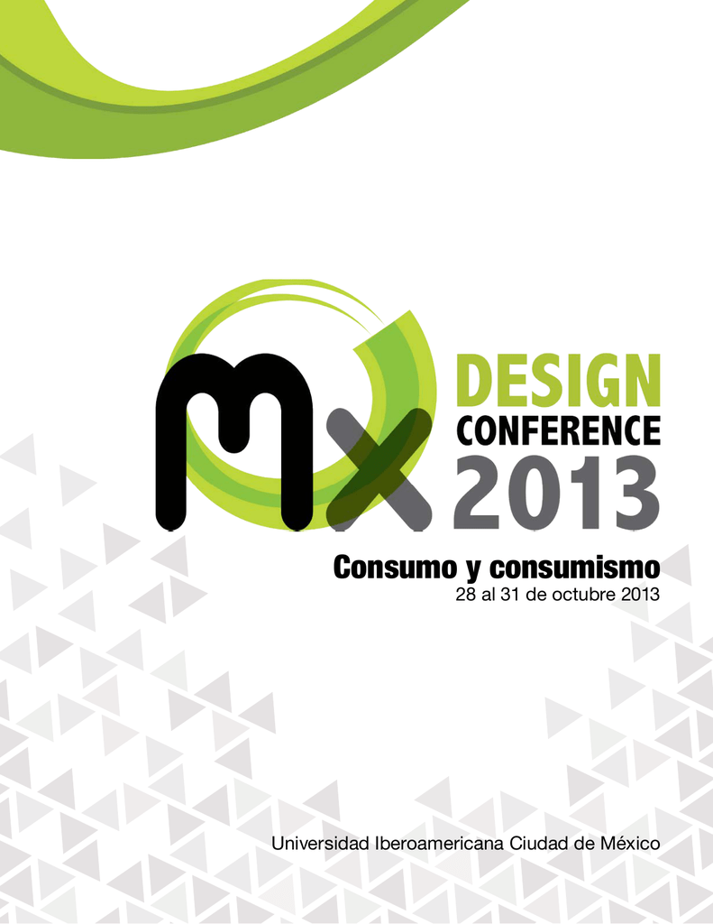 Mx design conference 2013 consumo consumismo fandeluxe Image collections