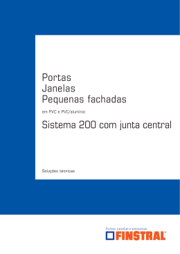 Janelas PVC Finstral