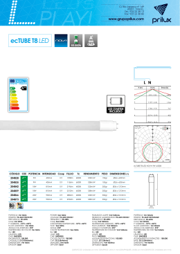 Ficha técnica_ecTube T8 led