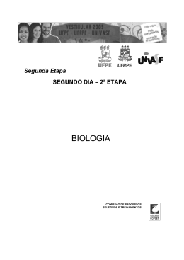 2 Fase - Biologia