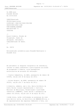 Documentos do Itamaraty