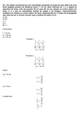 26 - Um objeto movimenta-se com velocidade constante ao longo ecd70a2d98
