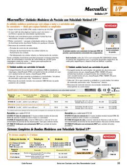 ® Unidades Modulares de Precisão com Velocidade - Cole
