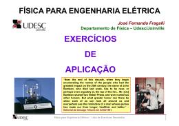 lista de exercícios resolvidos