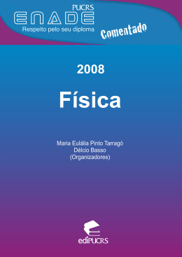 ENADE Comentado 2008: Física