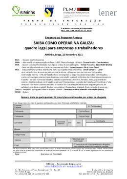 SAIBA COMO OPERAR NA GALIZA: quadro legal para empresas e
