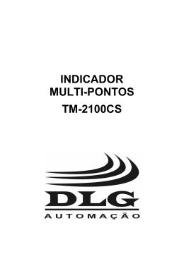 INDICADOR MULTI-PONTOS TM-2100CS