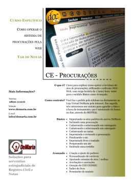 Procurações DOC-Web