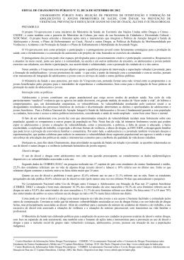 edital de chamamento público nº 12, de 26 de setembro de 2012