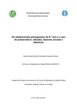 Dissertação de Mestrado - Sancha Ferreira