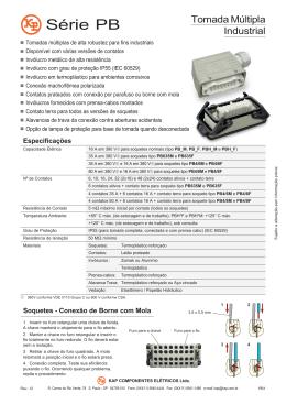 Série PB - KAP Componentes Elétricos