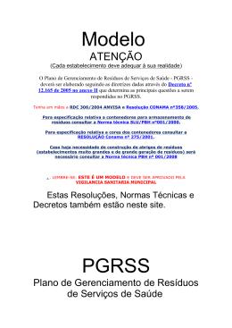 Modelo PGRSS