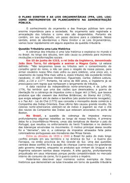 O Plano Diretor e as leis orçamentárias (PPA, LDO, LOA) como
