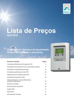 OEMLista de Preços2010aPorto102921.indd