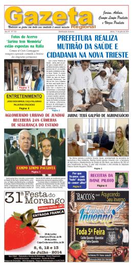 Edição 133 - Gazeta Regional