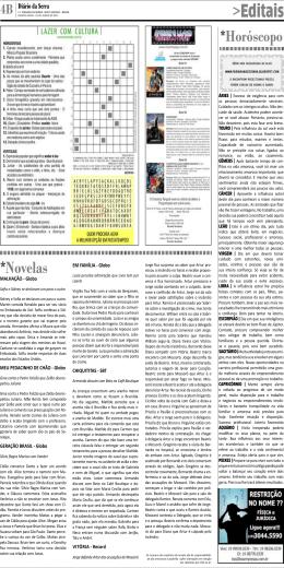 Editais - Diário da Serra