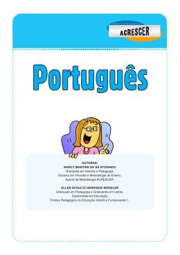MODULO PORTUGUES 4º ANO 2º BIM_2015_PROFESSOR
