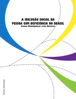 a inclusão social da pessoa com deficiência no brasil