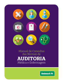 Manual de Auditoria Médica e Enfermagem 2015 - Unimed Ji