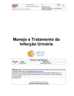 Manejo e Tratamento da Infecção Urinária