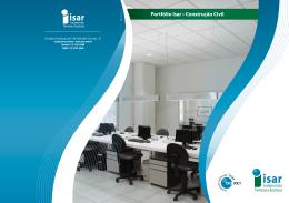 Portfólio Isar • Construção Civil