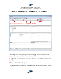 manual para configurar cliente ftp filezilla 1 2 3 4