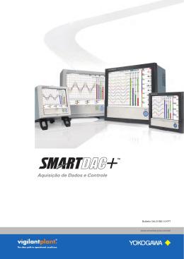 SMARTDAC+ Aquisição de Dados e Controle