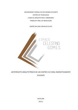 Espaço Celestino Gomes - Biblioteca Digital de Monografias