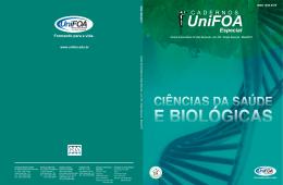 1ª Edição Especial Ciências da Saúde e Biológicas
