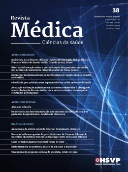 Ciências da saúde - Hospital São Vicente de Paulo