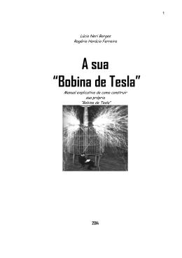 """A sua """"Bobina de Tesla"""""""